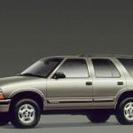 Chevrolet Blazer 1999 Side View Wallpaper