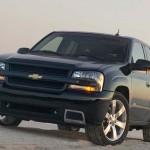 Chevrolet Blazer Front Angle Sand Wallpaper