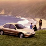 Chevrolet Cavalier 1999 Bronze Beach View Wallpaper