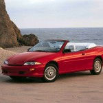 Chevrolet Cavalier Red Convertible Wallpaper