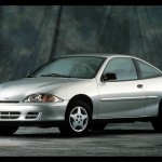 Chevrolet Cavalier Silver Front Left Side Wallpaper