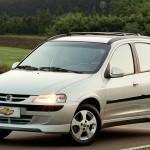 Chevrolet Celta 2003 White Wallpaper