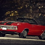 Chevrolet Chevelle Ss Red Convertible Wallpaper