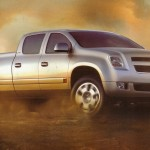 Chevrolet Cheyenne Concept Front Side Wallpaper