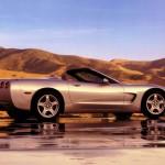Chevrolet Corvette C5 1997 Gray Convertible Wallpaper