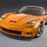 Chevrolet Corvette Z06 Yellow Front Wallpaper