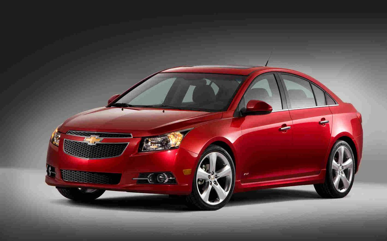 Red Chevy Cruze Black Rims Cruze 2009 To 2011