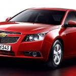 Chevrolet Cruze Red Front Side Angle Wallpaper