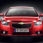 Chevrolet Cruze Red Front Wallpaper