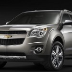 Chevrolet Equinox Gray Front Low Angle Wallpaper