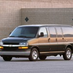Chevrolet Express Full Front And Side Wallpaper