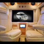 Chevrolet Express Interior With Monitor Wallpaper