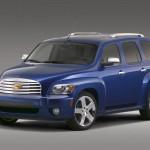Chevrolet Hhr 2006 Blue Front Side Wallpaper