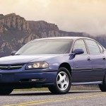 Chevrolet Impala 2000 Mountain Background Wallpaper
