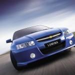 Chevrolet Lumina Blue Front Close Up Wallpaper