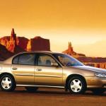 Chevrolet Malibu 2000 Side View Mountains Wallpaper