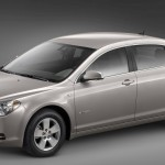 Chevrolet Malibu Hybrid Side Front High Angle Wallpaper