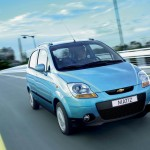 Chevrolet Matiz Front Moving Wallpaper