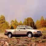 Chevrolet S10 1999 Right Side Wallpaper