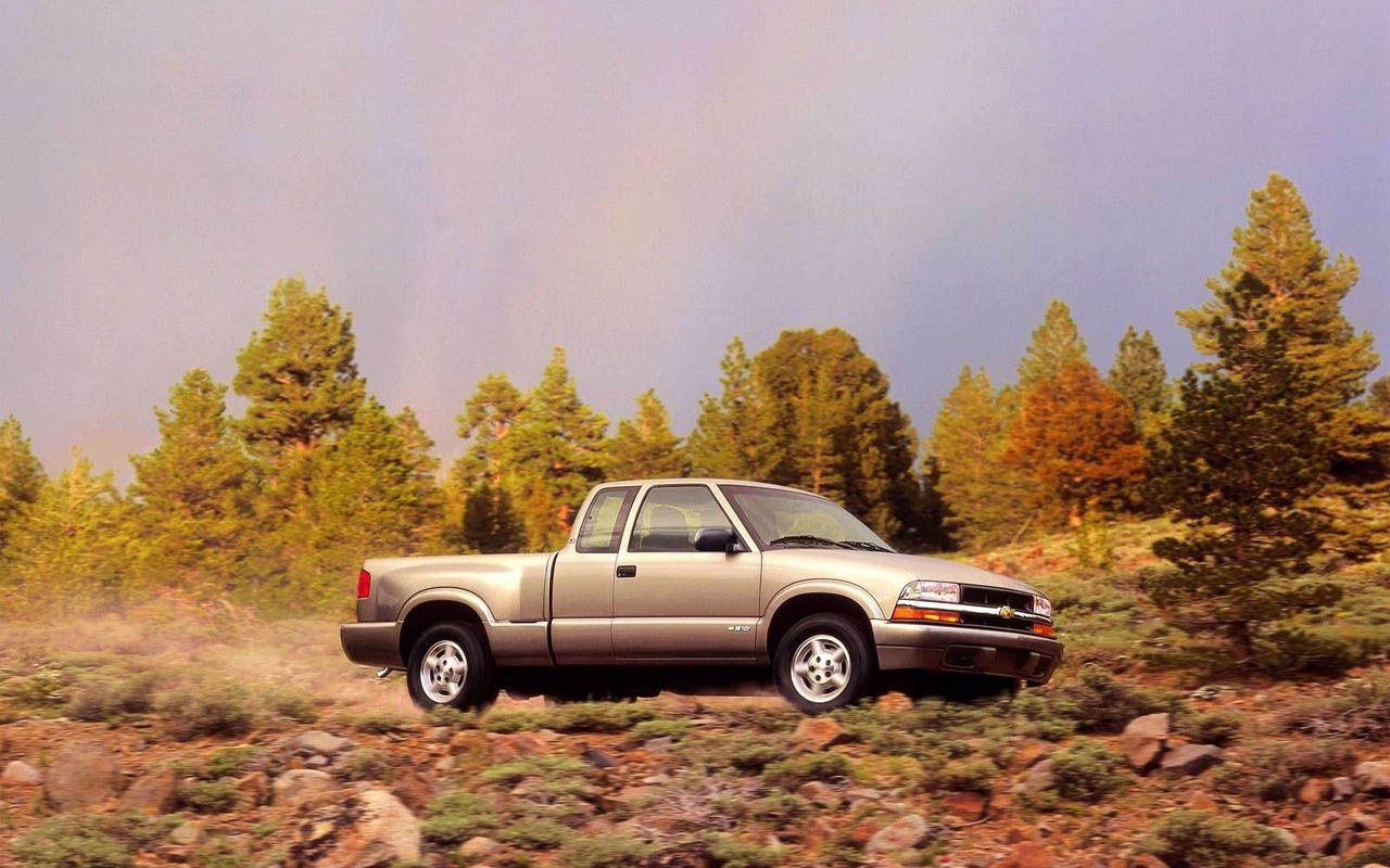 Chevrolet S 10 2wd Ls Xtreme Regular Cab 1999 Pictures Picture