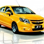 Chevrolet Sail Yellow Front Wallpaper