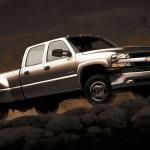Chevrolet Slverado 1699 Gray Wallpaper