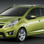 Chevrolet Spark 2010 Green Wallpaper