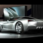 Chevrolet Stingray 2009 Concept Rear Wallpaper