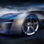 Chevrolet Stingray 2009 Front Wheel Wallpaper