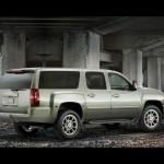Chevrolet Suburban Right Side Wallpaper