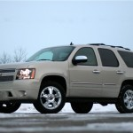 Chevrolet Tahoe 2009 Low Angle Wallpaper