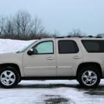 Chevrolet Tahoe White Snow Wallpaper