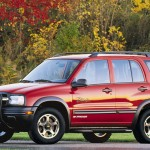Chevrolet Tracker Red Wallpaper