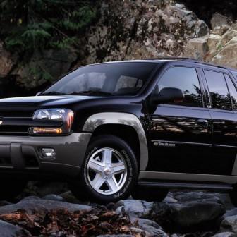 Chevrolet Trailblazer Black Wallpaper X