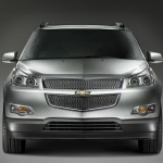 Chevrolet Traverse 2009 Front View Wallpaper
