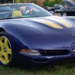 Chverolet Corvette 1998 Blue Front And Right Wallpaper