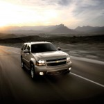 Tahoe Front View Moving Wallpaper